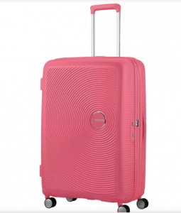 travel accessories American Tourister Spinner Expendable Suitcase