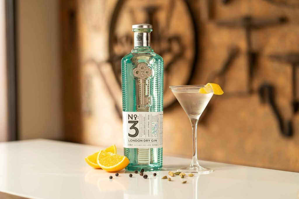 no 3 london dry gins