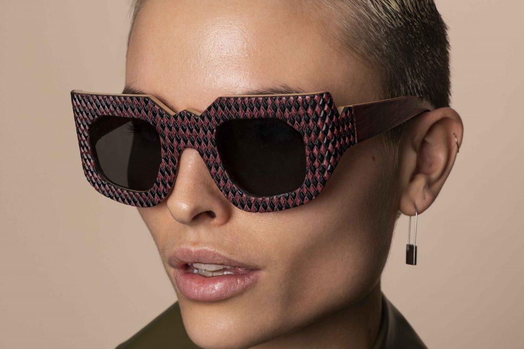 travel accessories Campbell Marson luxury wooden eyewear