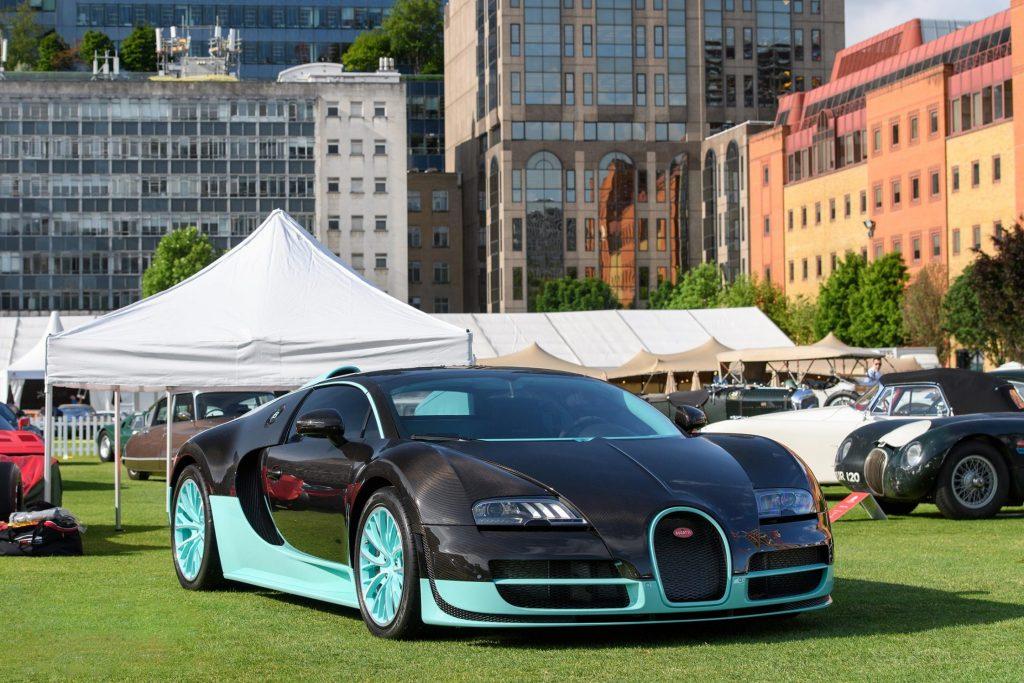 mark captain luxuriate Bugatti Veyron