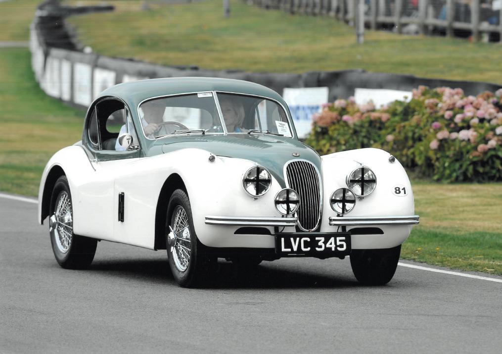 London Concours 2020 1940 Jaguar XK120