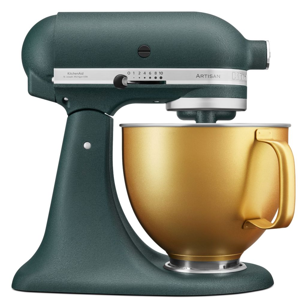 Foodie gifts for Christmas 2020 Kitchenaid Artisan 4.8L Stand Mixer in Pebbled Palm