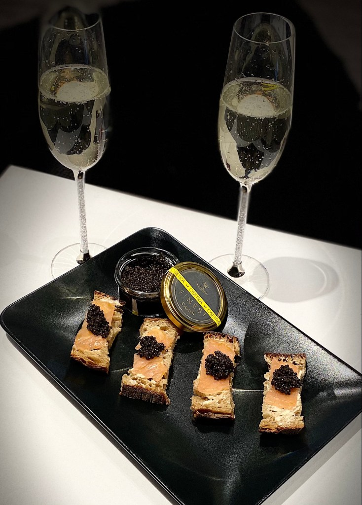 Caviar by post: A moment with Caviar to You