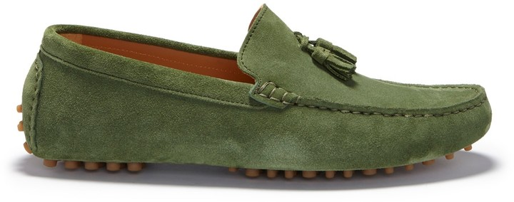 Hugs & Co. Tasselled Driving Loafers - luxuriate Life Magazine by Mark Captain