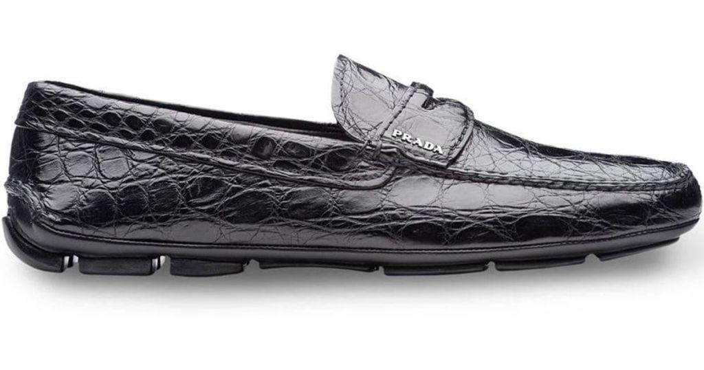 Prada Crocodile Leather Loafers - Luxuriate Life Magazine by Mark Captain