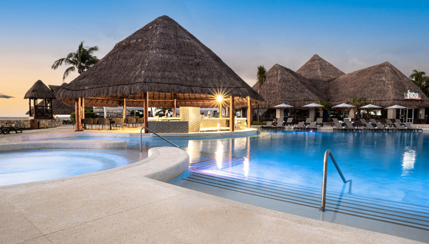 Hard Rock Hotel, Riviera Maya luxury pools - Luxuriate Life Magazine by Mark Captain
