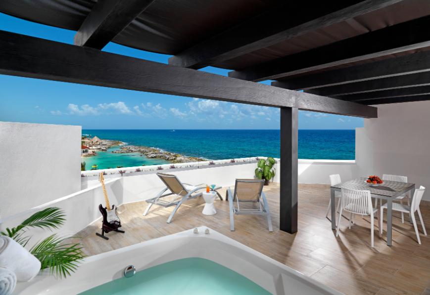 Hard Rock Hotel, Riviera Maya luxury spa in caribbean - Luxuriate Life Magazine by Mark Captain