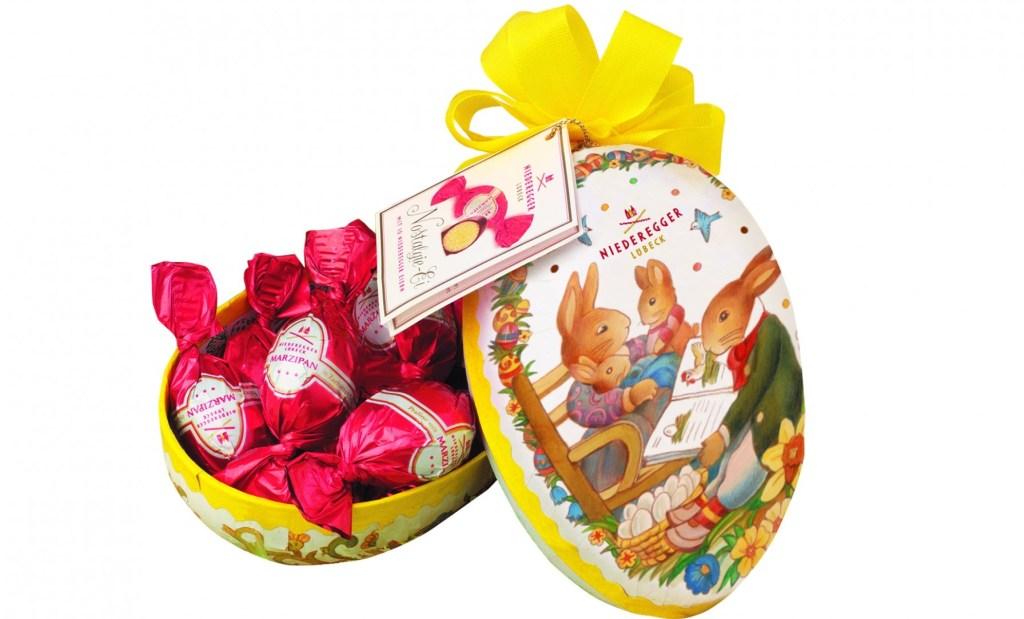 Easter Gifts: Niederegger Marzipan Nostalgic Egg - Luxuriate Life Magazine by Mark Captain