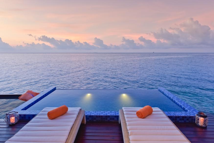 Maldives Grand Park Kodhipparu Luxury Pool - Luxuriate Life Magazine by Mark Captain