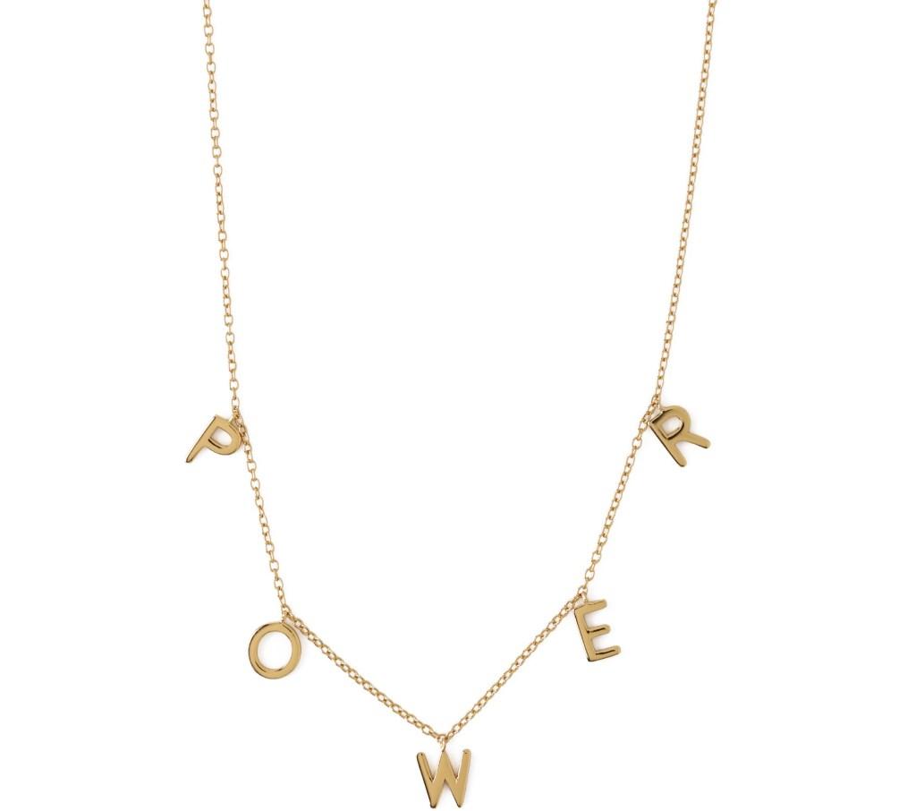 International Women's Day Orelia Luxe Power Necklace