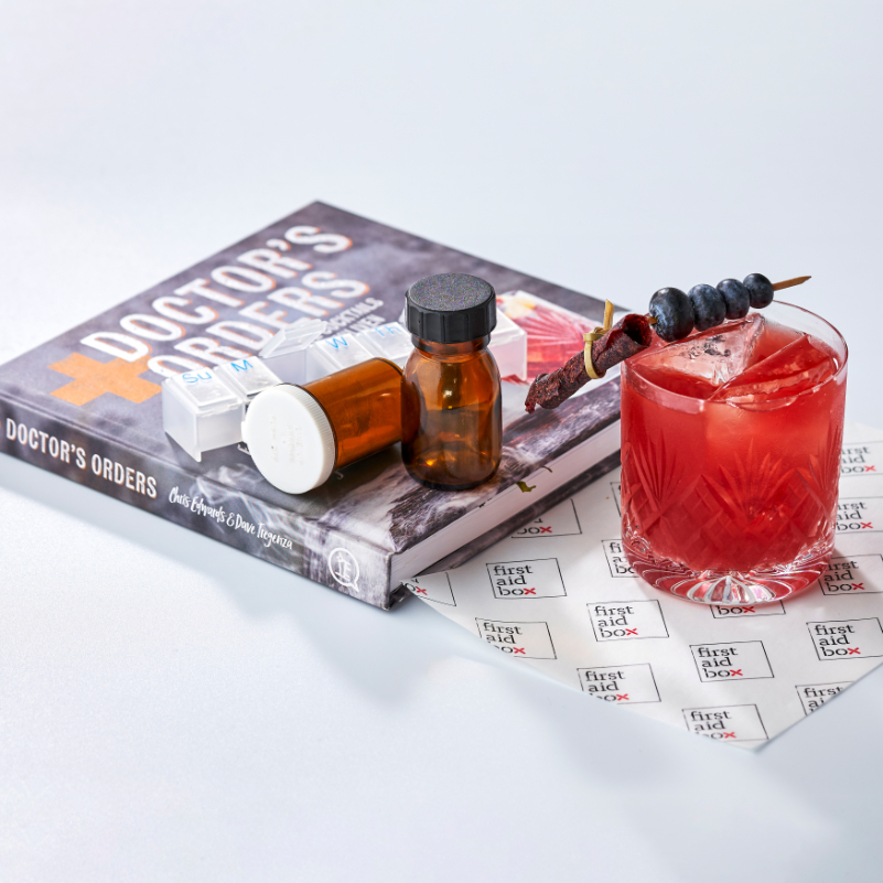 First Aid Box home cocktails  - Luxuriate Life Magazine by Mark Captain