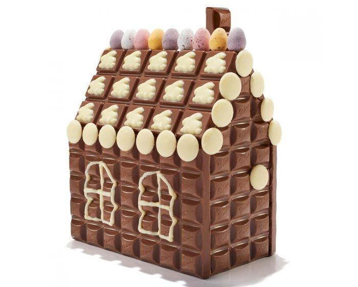 Cadbury Dairy Milk Easter Cottage Kit - Luxuriate Life Magazine by Mark Captain