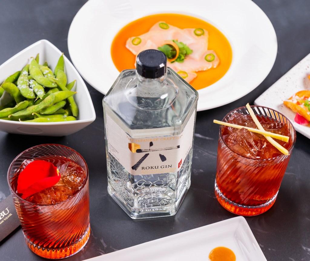 Luxury Roku Japanese Gin Garden at Nobu Portman Square - Luxuriate Life Magazine