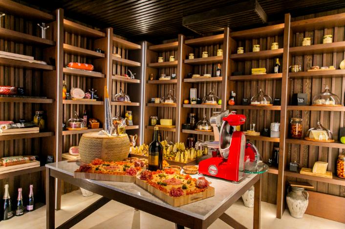 Kudadoo Private Island Maldives Cheese Room - by Mark Captain, Luxuriate Life, Luxury Magazine UK