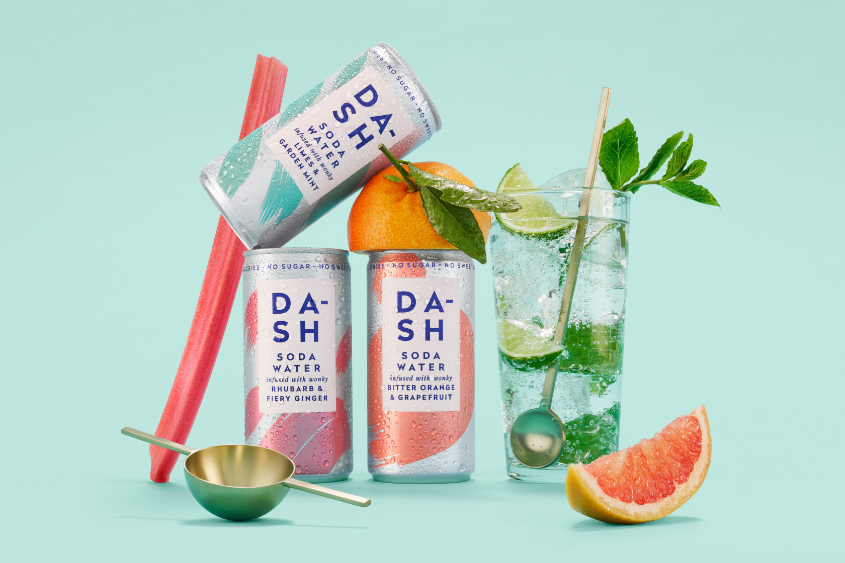 The Great Outdoors: Dash Sparkling Water - by Mark Captain, Luxuriate Life Magazine, Luxury Magazine UK