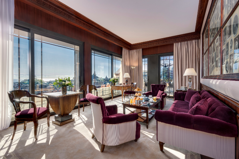 TV Hotels favourite suites: The Syndicate Suite Carré d'Or, Hotel Metropole Monte Carlo - Luxuriate Life Magazine