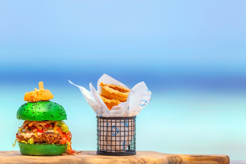 Hurawalhi Island luxury Maldives resort for adults JFK (Junk Food Kitchen) - Luxuriate Life Magazine