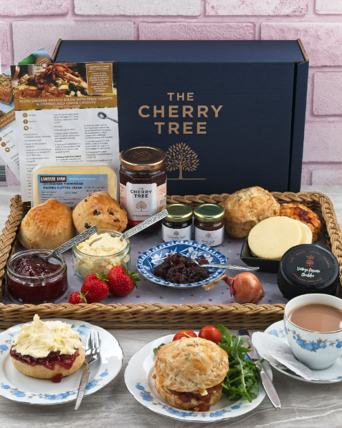 The Cherry Tree Luxury Afternoon Tea Box - by Mark Captain, Luxuriate Life Magazine, Luxury Magazine UK