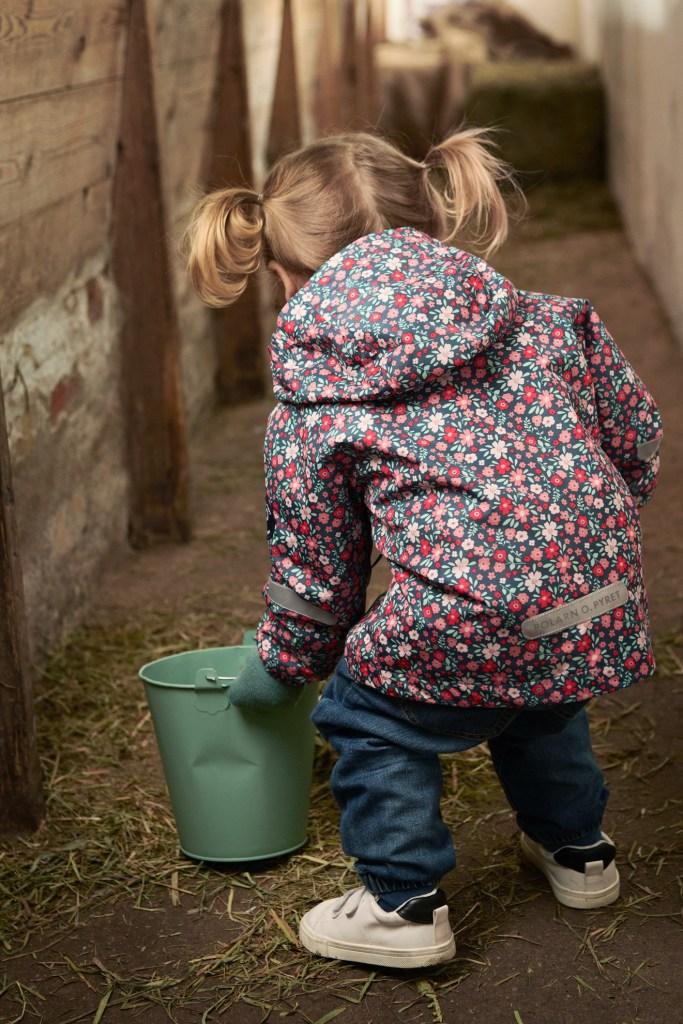 Polarn O. Pyret Lightweight Kids Waterproof Shell Jacket - by Mark Captain, Luxuriate Life Magazine, Luxury Magazine UK