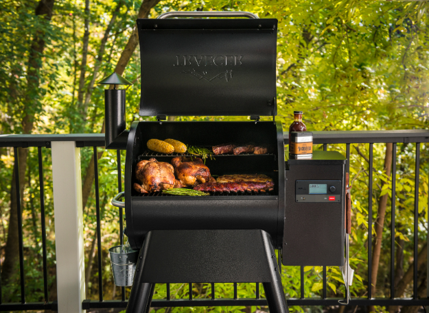 The Great Outdoors: Traeger Pro Series - by Mark Captain, Luxuriate Life Magazine, Luxury Magazine UK