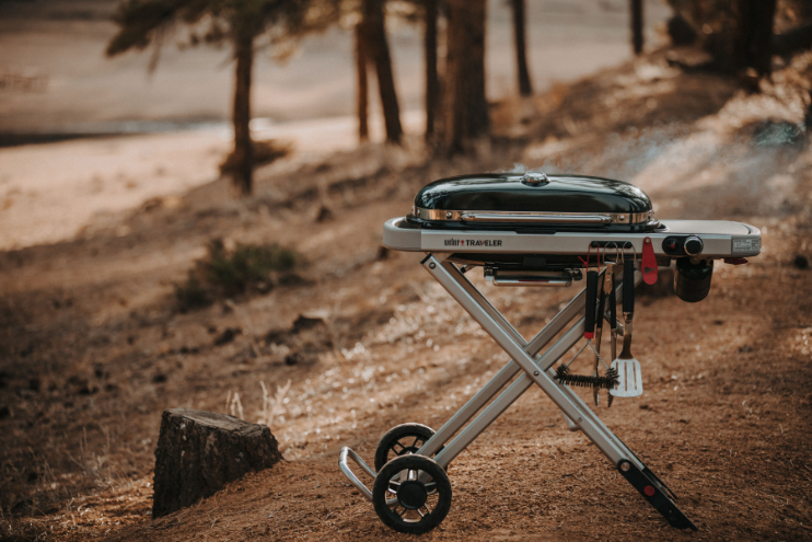 The Great Outdoors: Weber Barbeques - by Mark Captain, Luxuriate Life Magazine, Luxury Magazine UK