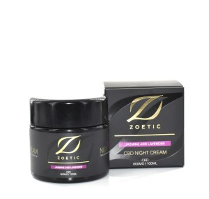 Spring 2021 Beauty Guide: Zoetic's Jasmine & Lavender CBD Night Cream - Luxuriate Life Magazine by Mark Captain