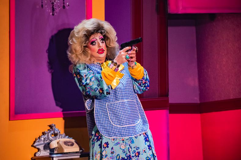 Review: Death Drop - a Dragatha Christie murder mystery play - Luxuriate Life Magazine