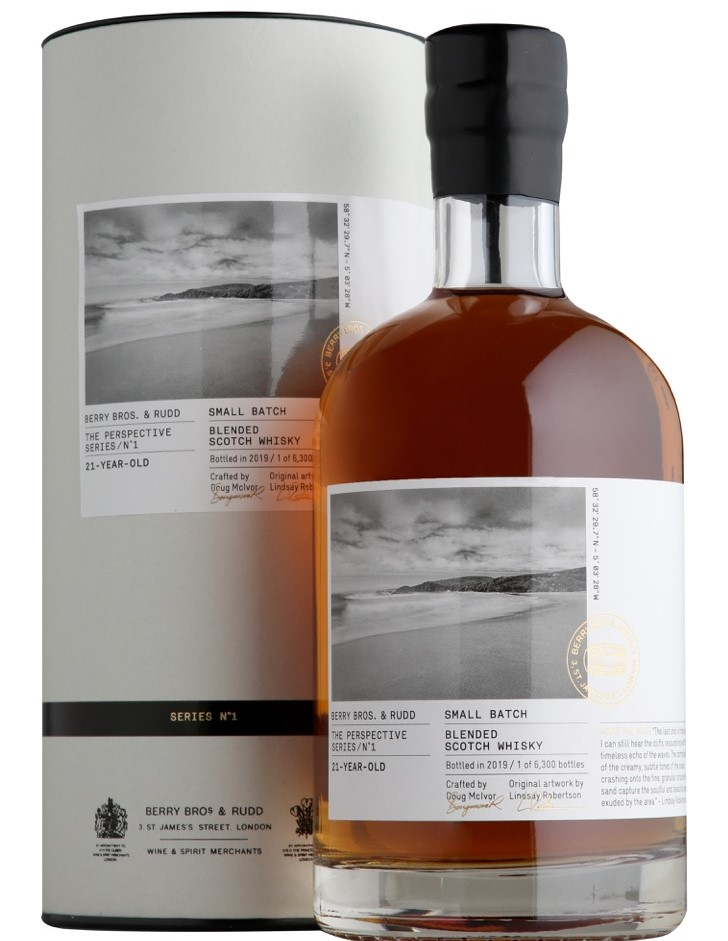 Guide to Father's Day 2021: Berry Bros. & Rudd Perspective Series 21-Year-Old Blended Scotch Whisky - Luxuriate Life Magazine
