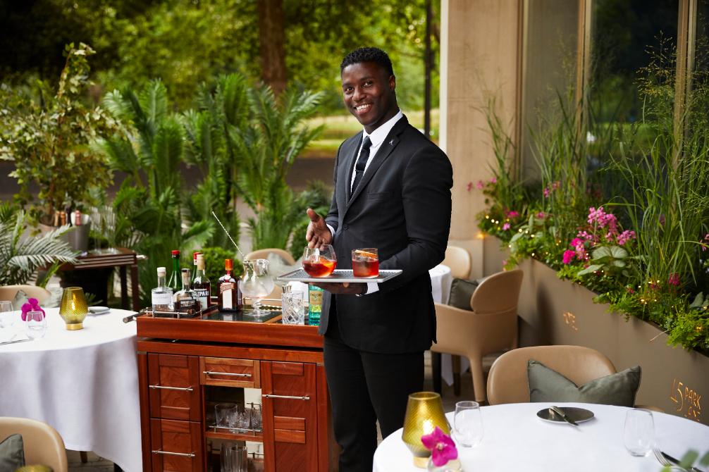 CUT Out, Park Lane BAR 45 bar supervisor Winston - Luxuriate Life Magazine, a UK Luxury Magazine