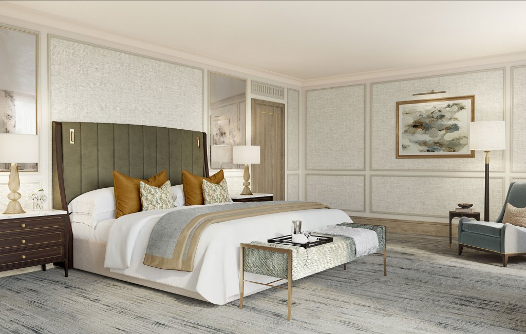 The Carlton Tower Jumeirah Bedroom Royal Suite - Luxuriate Life Magazine