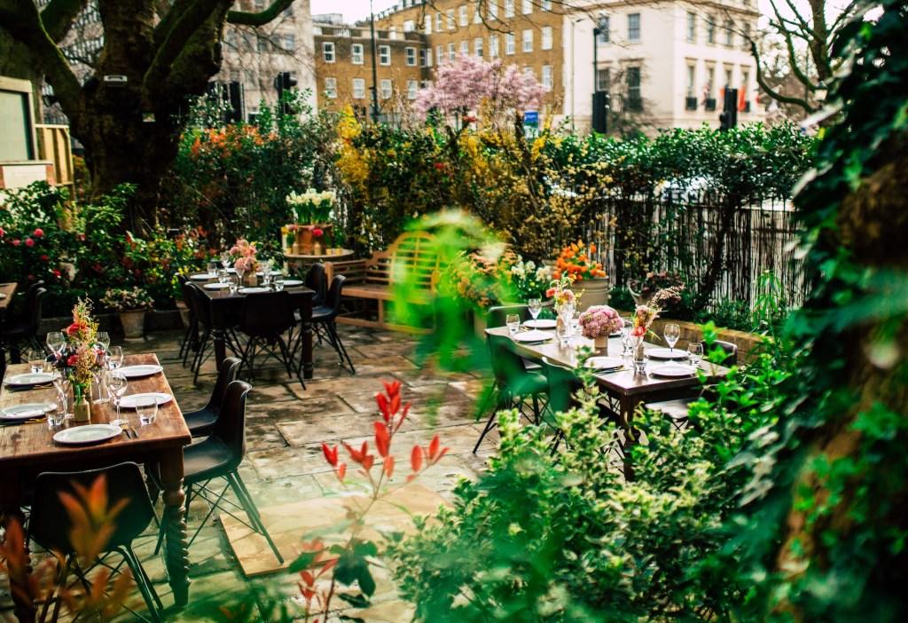 One Marylebone Luxury Restaurant With Garden - Luxuriate Life Magazine, UK Luxury Magazine