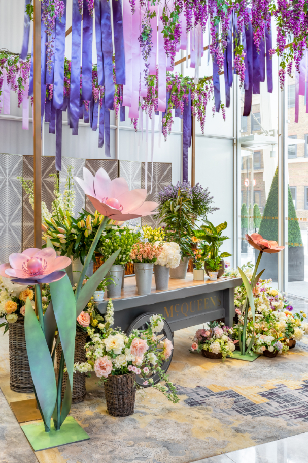 Springtime celebrations in the clouds in Shangri-La Hotel, At The Shard - Luxuriate Life Magazin by Mark Captain