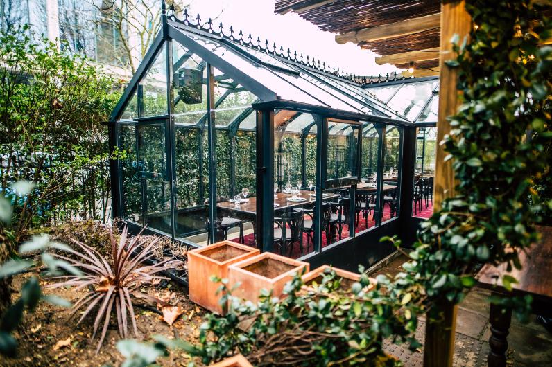 Chameleon London at One Marylebone Floral Garden Greenhouse - Luxuriate Life Magazine, UK Luxury Magazine