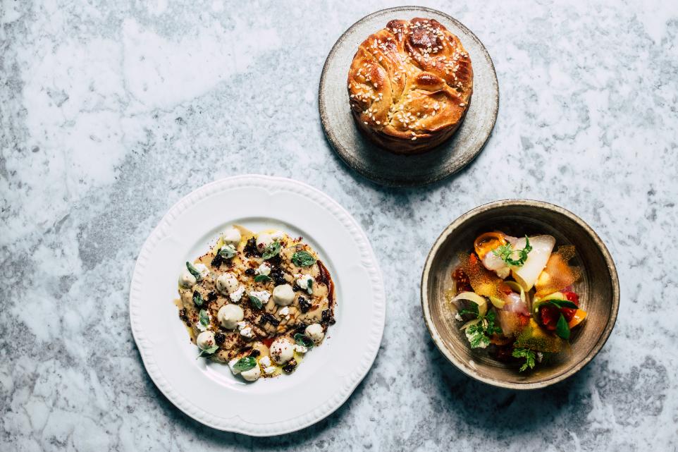 Chef Elior Balbul yellowtail sashimi One Marylebone - Luxuriate Life Magazine, UK Luxury Magazine