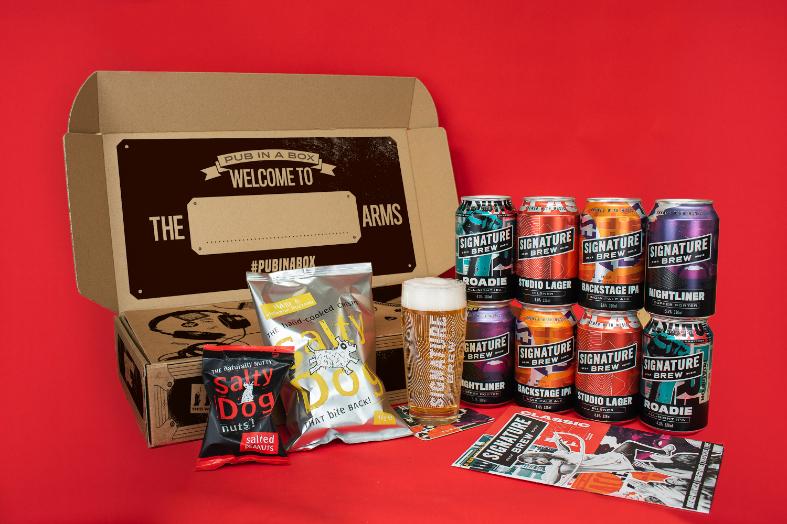 Guide to Father's Day 2021: Signature Brew's Pub in a box - Luxuriate Life Magazine