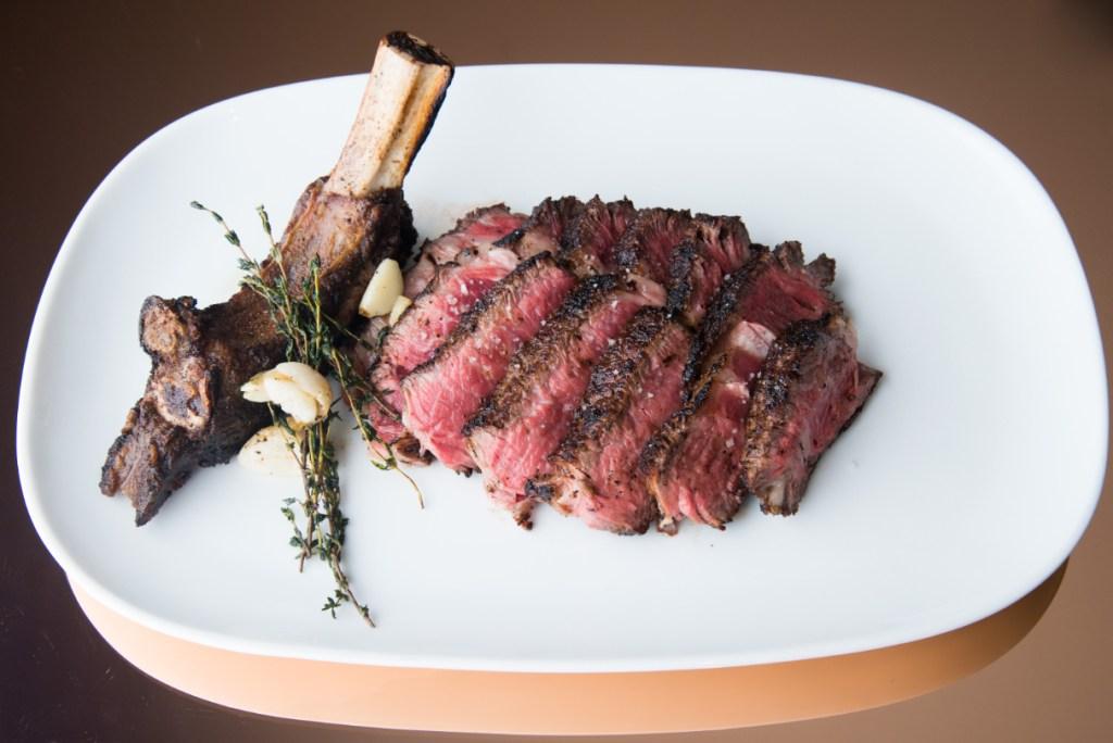 Rib eye steak at CUT Out, Park Lane - Luxuriate Life Magazine, a UK Luxury Magazine