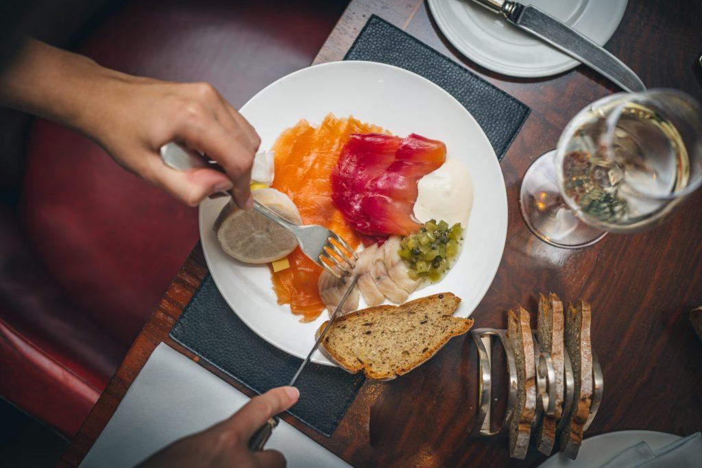 H Forman salmon with horseradish crème - Luxuriate Life Magazine, Luxury UK Magazine 2021