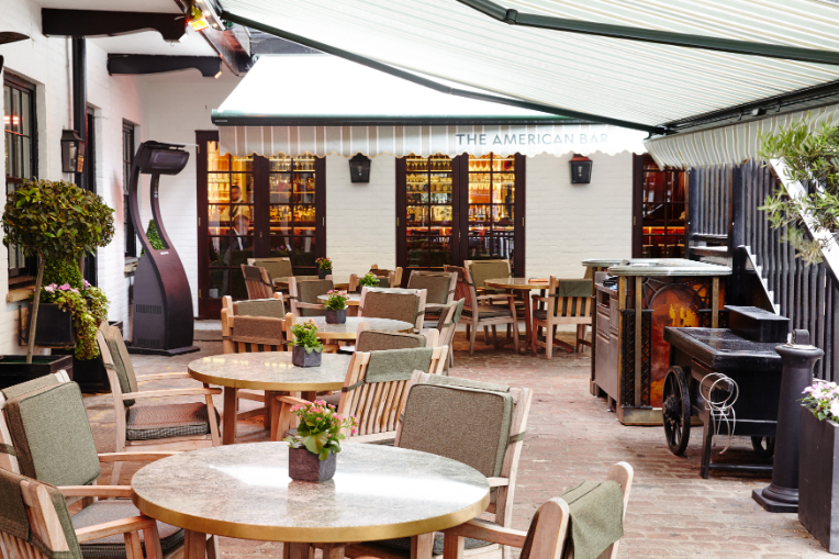 Understated excellence in The Courtyard at The Stafford London - Luxuriate Life Magazine
