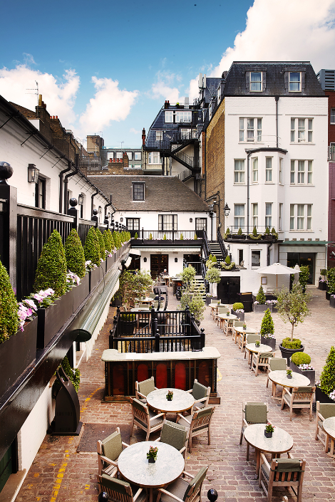 The Courtyard at The Stafford London - Luxuriate Life Magazine