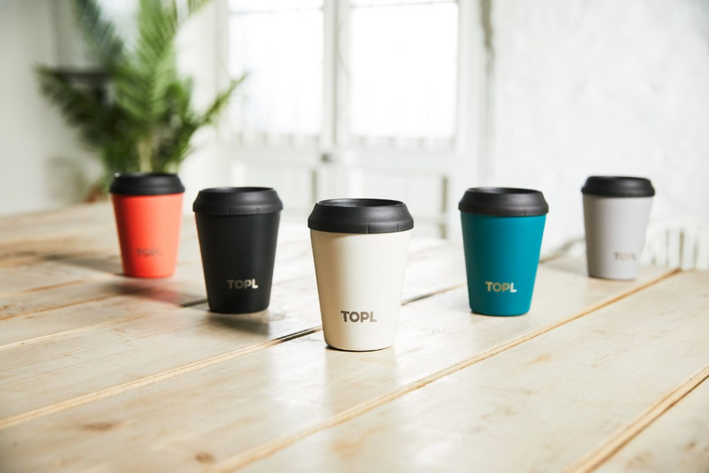 Guide to Father's Day 2021: TOPL Smart Reusable Coffee Cup - Luxuriate Life Magazine